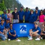 Group Photo – Celebrity Beginners Golf Clinic
