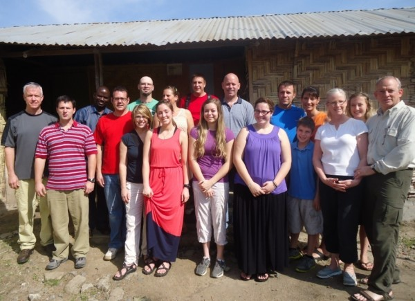 American Delegation from the Harvest Bible Chapel in Liberia as guest of SOGOM Harvest