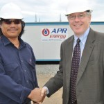 APR Energy hosts Acting US Ambassador at its Power Plant