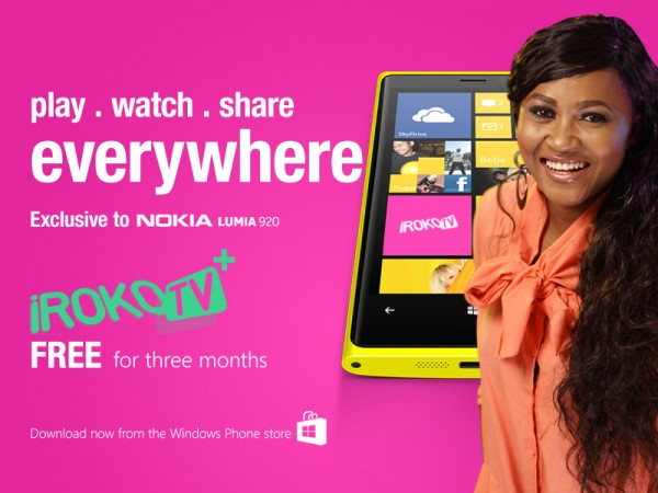 iROKOtv Launches Mobile App Exclusively on Nokia Lumia – Shout