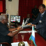 Sierra Leone: NCD present reports as Indian High Commission bids farewell to President Koroma