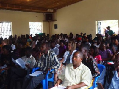 Over 200 participants attending the SOGOM Harvest Teachers' Training ...