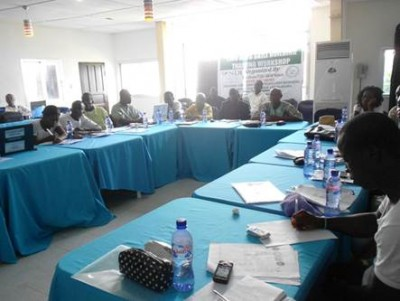Section of the Training Workshop of the Liberia CSOs WASH Network