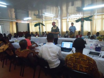 Day two of the Workshop for the establishment of the WASH Media Network-Sierra Leone