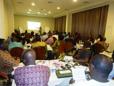 View of participants of the Regional Workshop of WaterAid in Monrovia