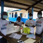 LIBERIA: USAID-IWASH Program delivers materials to prevent potential Ebola spread