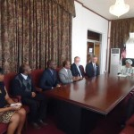Liberia: Living Water Int'l CEO pays 1st visit, meets President Sirleaf & others