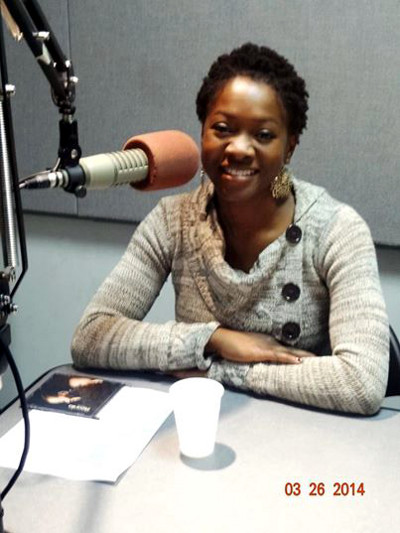 AZANIA during a radio interview on No Questions Asked show - WBAI, 99.5 FM in New York