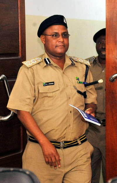 The new Tanzania's Inspector General of Police, Ernest Mangu whose human rights record will be scrutinized by the human rights NGOs