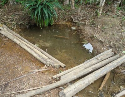 A place where residents of David Town once fetched water