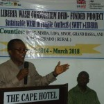 LIBERIA: WASH Consortium Launches DFID GBP 7.5 Million Project