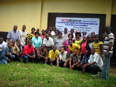 Group Photo of Participants at Phebe Hospital & School of Nursing, Suakoko District, Bong County