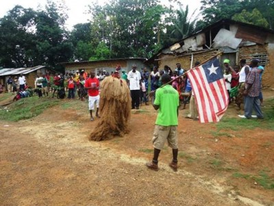Cultural and traditional celebrations by the people of Arthington, as a sign of expressing gratitude to Higher Ground International (HGI)
