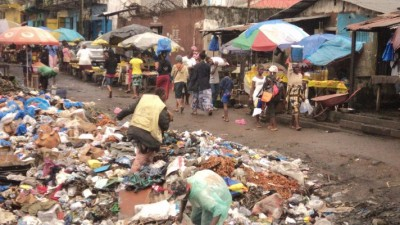 Dumpsite at Rally Town Market