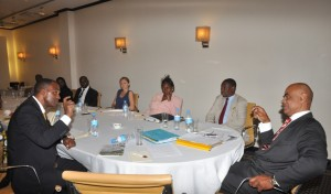 In a direct conversation with participants