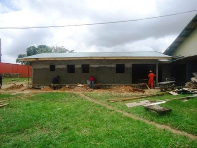 Ebola Case Management Center nearing completion at the Phebe Hospital