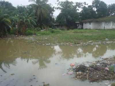 Flooding and poor sanitation in Jamaica Road Community