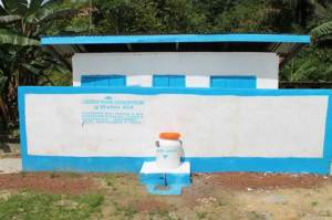 Toilet Facility in Kwenkor, Gola Konneh District , Grand Cape Mount County