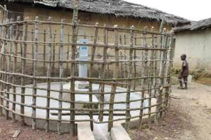 Reahabilitated Well in Kwenkor Town, Gola Konneh