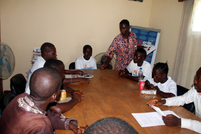 """Children Round Table Media Engagement, held in WASH R&E """"Media"""" conference room"""