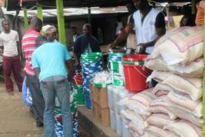 Donation at Bo Waterside, Grand Cape Mount County by ACT-Alliance Liberia Forum