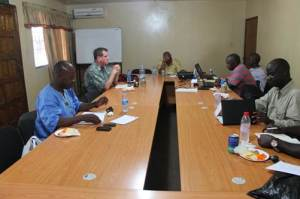 Members of ACT-Alliance Liberia Forum at the Strategic Meeting in Monrovia