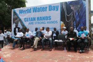 Members of the Platform at the Observance of World Water Day 2015 in Monrovia