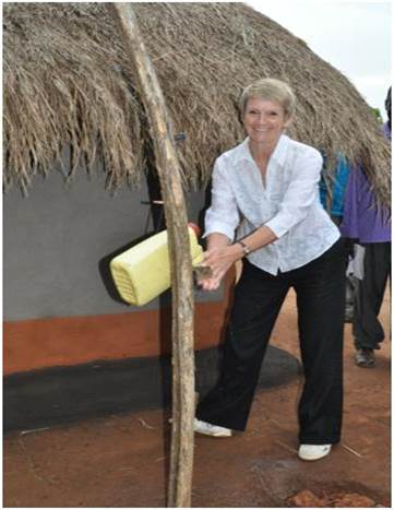Chief Executive Officer at WaterAid, Barbara Frost