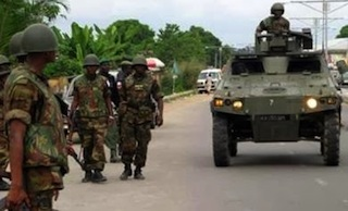 Security has been beefed up at the Lagos State Office of the Independent Electoral Commission