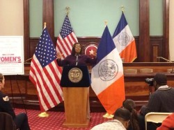 New York City Public Advocate - Letitia James delivers her Closing Remarks