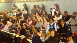 Participants at NYC Council Chambers Gallery Celebrate Second Annual Women's Herstory Month