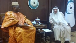 Salone Envoy and OIC Scribe satisfied with relationship