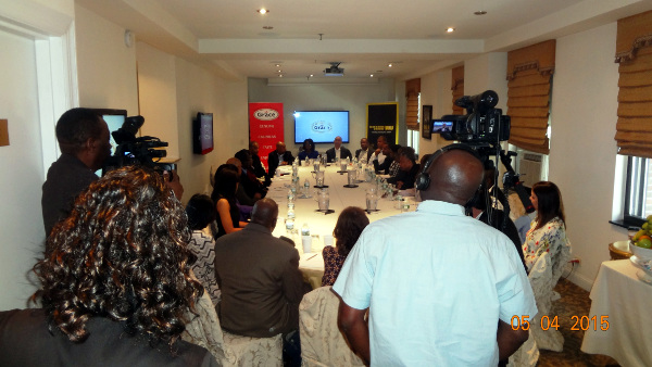 3rd Annual Caribbean Diaspora Forum Media Breakfast at the Kimberly Hotel in New York City