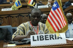 Head of Liberia's Delegation, Assistant Public Works Minister, George K.W Yarngo