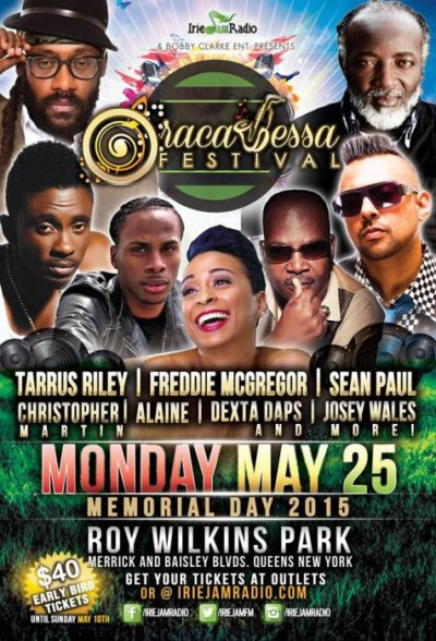 Oracabessa Festival Flyer