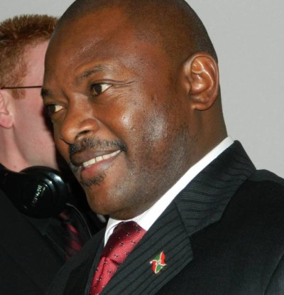 Pierre Nkurunziza, Burundian President at the power tussle now