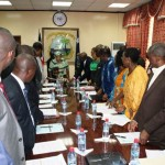 LIBERIA: President Sirleaf Finally Holds 1st WASH Board Meeting