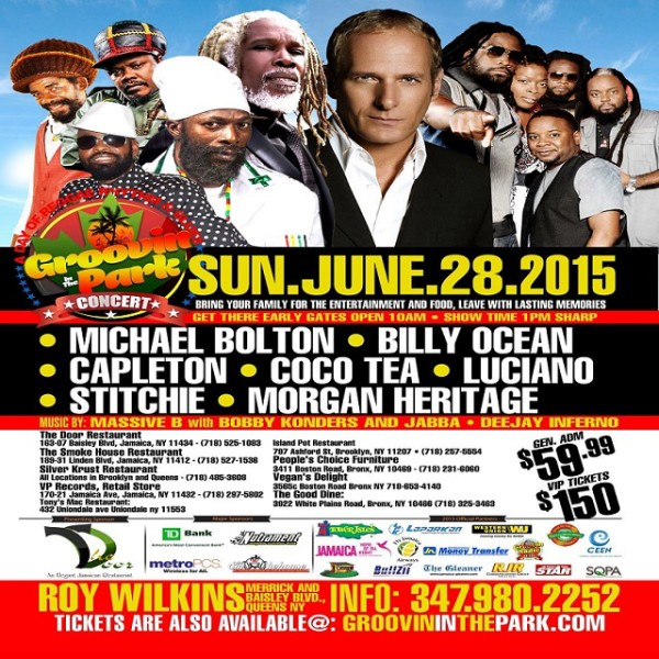 Groovin' In The Park Flyer