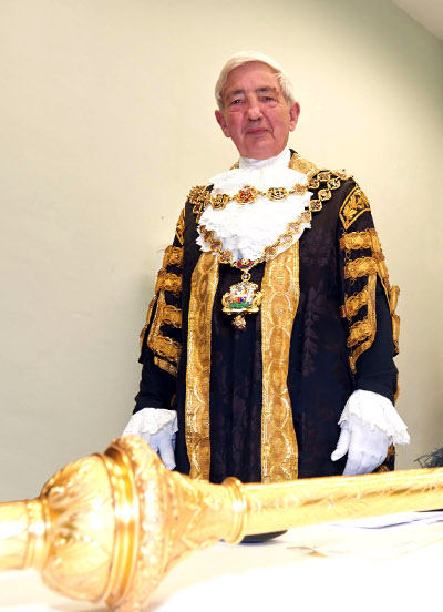 The Mayor of Birmingham, Councillor Raymond Hassall