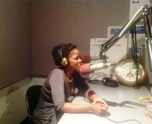 Fariso Jordan in-studio speaks about the premier of her one woman, two-act play in 2013 with No Questions Asked Radio over WBAI, 99.5 FM in New York City