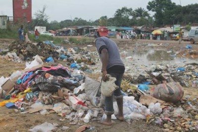 Dumpsite in the Parker Paint Community