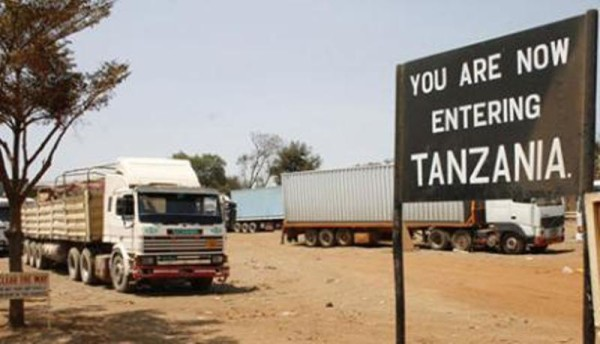 Crossing the Namanga border from Kenya to Tanzania