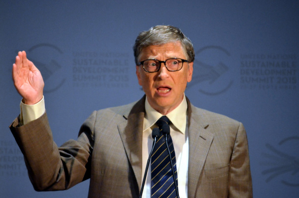 Mr. Bill Gates speaks at the Event on Building Resilient Healthcare Systems