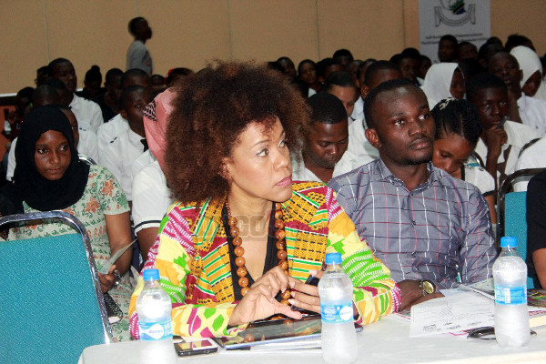 Ms. Maria Sarungi Executive Director Change Tanzania and Mr. Adam Anthony representative of the Open Society Initiative for Eastern Africa (OSIEA)
