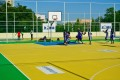 A well furnished basketball pitch is an attraction to youngsters liking of this game