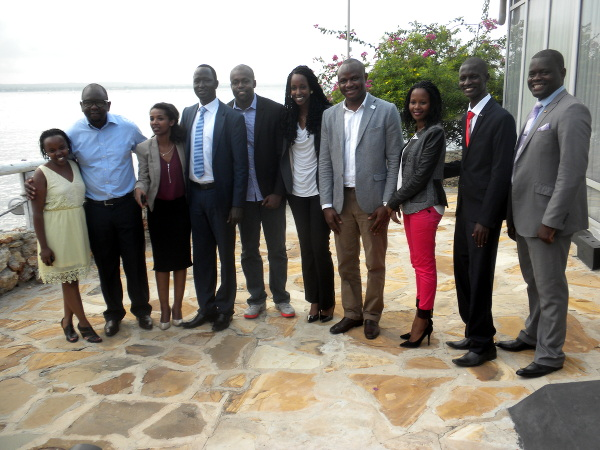 It is all smiles from the Eastern Africa group after the seminar
