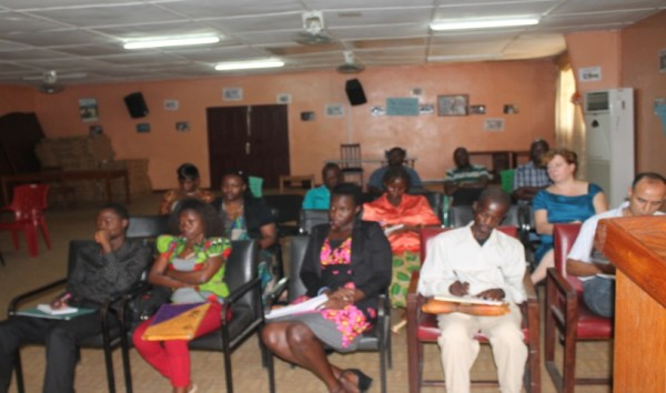 Some of the participants at Round Table Talk at the Gender Ministry