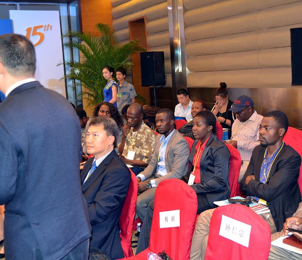 African journalists attending one of the conferences that are vital for gaining knowledge, they are hosted by the China Africa Press Centre