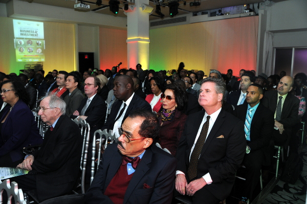 Cross section of investors and guests at Ghana Mission of New York:US Business Investment Forum