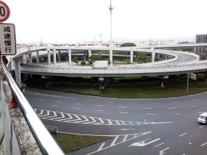 Road entry at the Yiwu Port